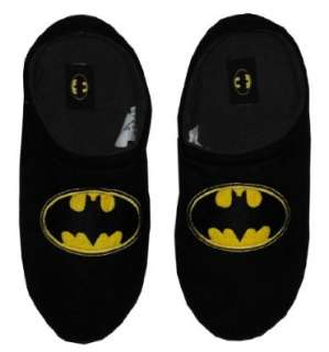 Batman DC Comics Logo Superhero Mens Slippers: Shoes
