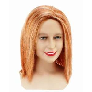 Geri Ginger Spice Fancy Dress Wig Inc FREE Wig Cap Toys