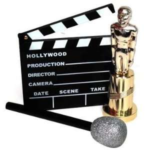 Celebrity DressUp Hollywood Clapboard Microphone Lot 8