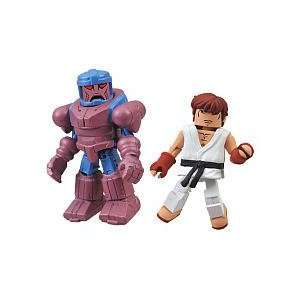 Marvel Vs Capcom 3 Minimates Series 2 Exclusive Mini Figure 2Pack