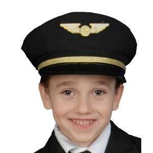 Airline Pilot Hat Child Costume Accessory Toys & Games
