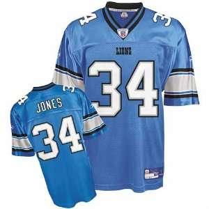 Kevin Jones #34 Detroit Lions Youth NFL Replica Player Jersey (Powder