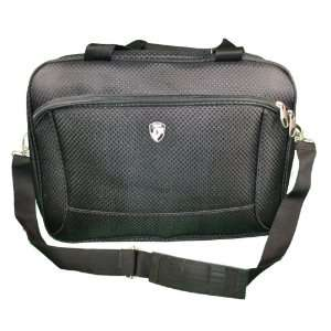 Heys Black Messenger Flight Travel Bag Laptop Storage