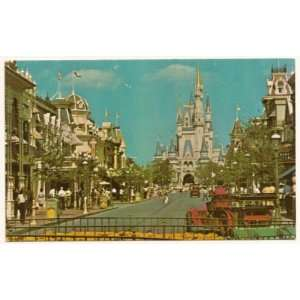 Walt Disney World Magic Kingdom Fantasyland 3x5 Postcard