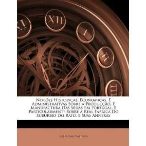 Administrativas Sobre a Producção, E Manufactura Das Sedas