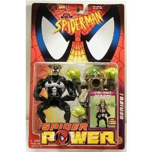 Marvel Comics Spider Man Spider Power Slime Shaker Venom