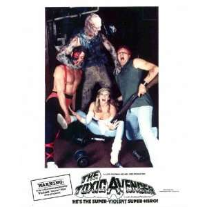 The Toxic Avenger Movie Poster (11 x 17 Inches   28cm x