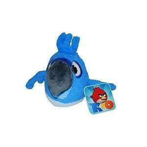 Angry Birds RIO 2 Inch Plush Backpack Clip   Blu. Toys