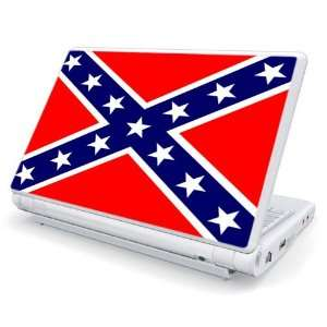Dell Mini 1010 / 10v Netbook Skin   Rebellion Flag