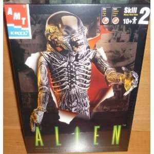 #30096 AMT/ertl Alien Plastic Model Kit,Needs Assembly