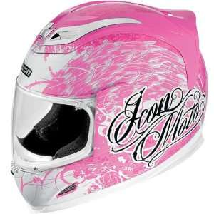 Airframe Full Face Motorcycle Helmet Street Angel Pink Automotive