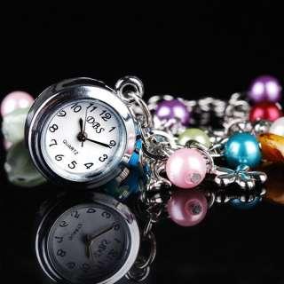 5x Bracelet Lady Girl Quartz Watch Wholesale Gift New E