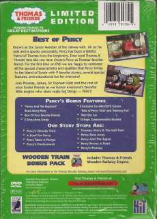 THOMAS & FRIENDS  The Best of Percy ( DVD) BONUS   NEW