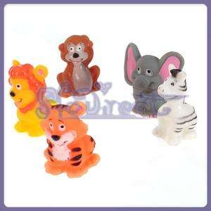 JUNGLE SAFARI ZOO ANIMAL FINGER PUPPETS BEDTIME Story PARTY PLAY