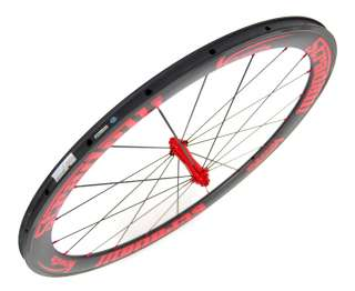 STRADALLI CARBON ROAD BIKE WHEELSET BICYCLE WHEELS RED