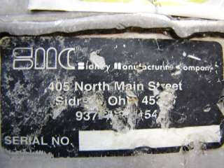 DIA X 5 L SMC STAINLESS STEEL SCREW CONVEYOR; USED