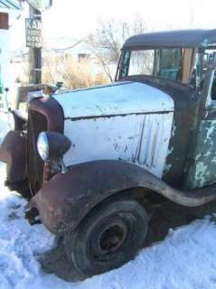 1935 Chevrolet 1/2 ton Pickup Truck original RESTORATION project Rat