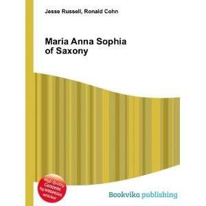 Maria Anna Sophia of Saxony Ronald Cohn Jesse Russell Books