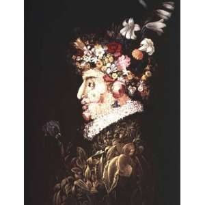 FRAMED oil paintings   Giuseppe Arcimboldo   24 x 32