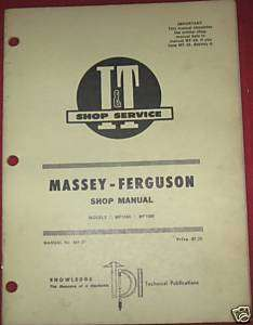 MF Massey Ferguson Massey Ferguson Tractors MF1080 MF1085 I&T Shop