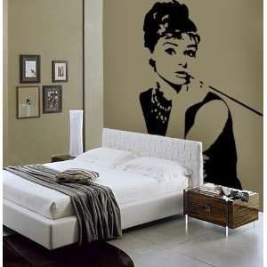 Audrey Hepburn Breakfast At Tiffanys Wall Vinyl Decal