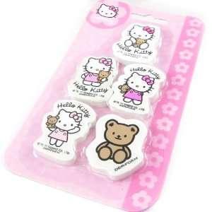 Set 5 gum Hello Kitty pink.