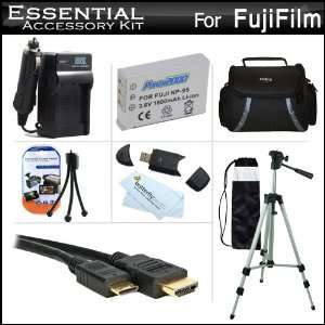 Essential Accessories Kit For Fuji Fujifilm X S1, XS1 Digital Camera