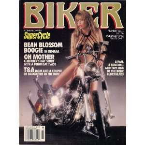 BIKER MAGAZINE JULY 1996 BEAN BLOSSOM BOOGIE IN INDIANA