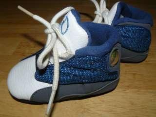 RARE Nike Air Jordan Baby FLINT 13 XIII boys CRIB shoes sz 2c