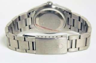 No Holes Steel Rolex Datejust Black Diamond Dial w/ Papers ~ 16200