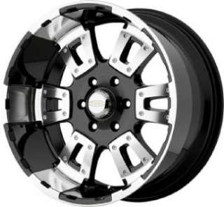 17 inch Diamo karat black wheels rims 6x135 Ford F150
