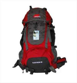 60L Canvas Rucksack Outdoor Camping Travel Backpack Mountaineering Bag