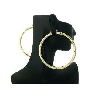 Basketball Wives POParazzi Hoop Earring Gold LXE19G 70mm