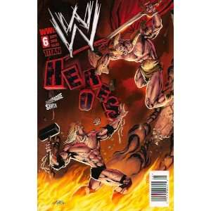 WWE Heroes #6 Andy Smith Cover: Books