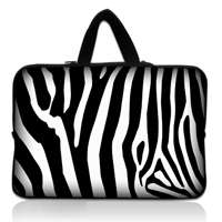 Black 14 14.1 Laptop Sleeve Bag+Handle Soft Case