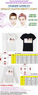 SHINEE WORLD]BIGBANG GD&TOP Prints Collection T shirt, TVXQ SUPER