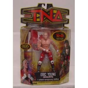 TNA Wrestling Series 8 Action Figure Eric Young [Canadian
