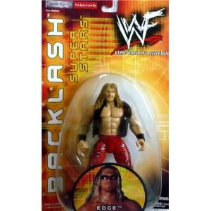 EDGE   WWE WWF Wrestling Exclusive Backlash Toy Figure by