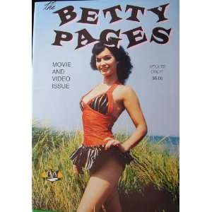 The Betty Pages Movie and Video Issue (#8) Various Artists Books