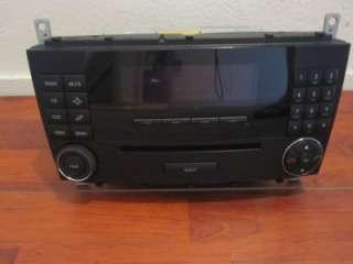 MERCEDES BENZ W 203 C / CLK CLASS 2005 UP OEM RADIO / CD AUDIO UNIT