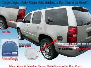 2007 2008 2009 2010 2011 2012 Tahoe, Yukon, Avalanche, Suburban Chrome