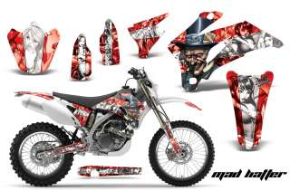 AMR RACING MX DIRT BIKE DECAL STICKER GRAPHIC YAMAHA WR 250/450F 07 11