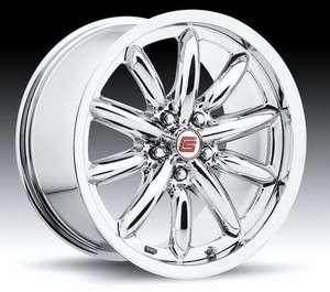 Carroll Shelby 2005   2011 Mustang 18x9.5 CS56 Chrome Wheel CS56