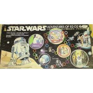 STAR WARS VINTAGE BOARD GAME ADVENTURES OF R2 D2