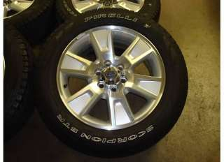 20 Ford F 150 WHEELS Rims Tires OEM Lariat XLT 09 11 10 F150