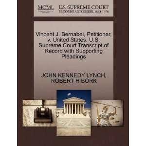 Pleadings (9781270645139) JOHN KENNEDY LYNCH, ROBER H BORK Books