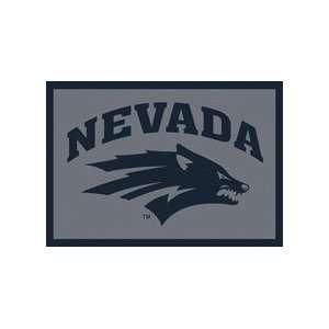 Nevada Wolf Pack Pack 33 x 45 Team Door Mat: Sports
