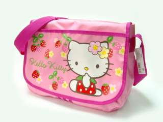 13 Brand New Hello Kitty Strawberry Messenger Shoulder Bag YELLOW