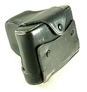 LEICA CAMERA BLACK LEATHER CASE FOR R4   VERY GOOD CONDITION