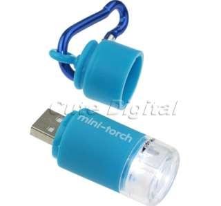 New Mini Torch USB Rechargeable LED Light Flashlight